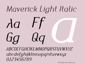 Maverick Light