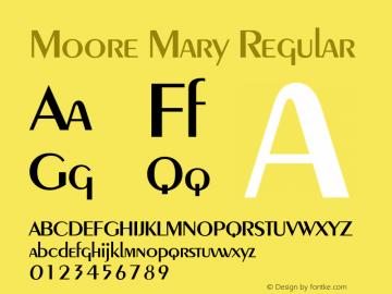 Moore Mary