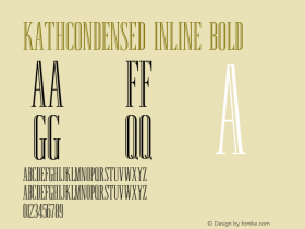 KathCondensed Inline
