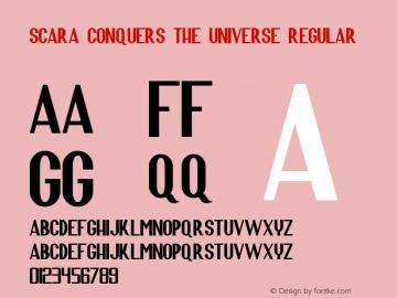Scara Conquers the Universe
