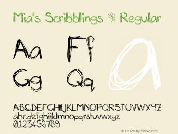 Mia's Scribblings ~
