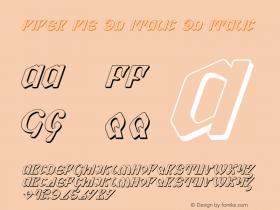 Piper Pie 3D Italic