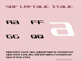 SDF Leftalic