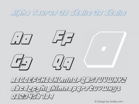 Alpha Taurus 3D Italic