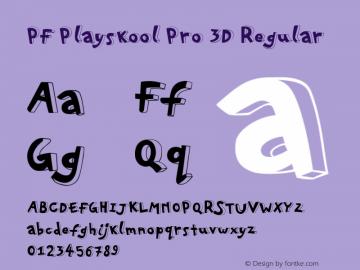 PF Playskool Pro 3D