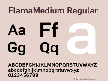 FlamaMedium