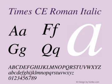 Times CE Roman
