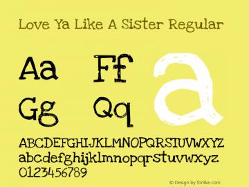 Love Ya Like A Sister