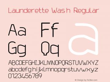 Launderette Wash