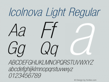 Icolnova Light