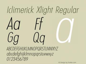 Iclimerick Xlight