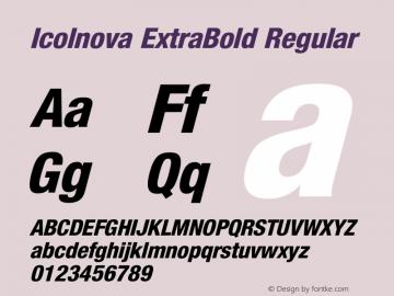 Icolnova ExtraBold