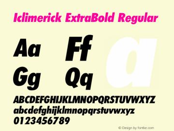 Iclimerick ExtraBold