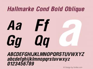 Hallmarke Cond