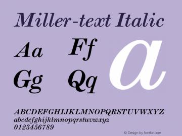 Miller-text