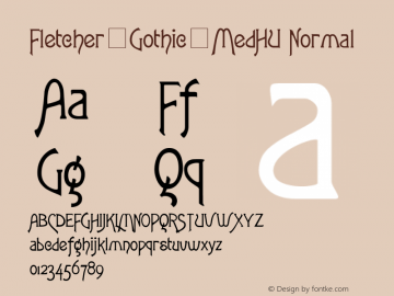 Fletcher-Gothic-MedHU