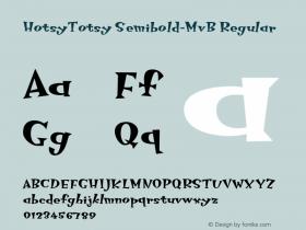 HotsyTotsy Semibold-MvB