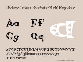 HotsyTotsy Rocksie-MvB