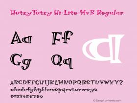 HotsyTotsy Hi-Lite-MvB