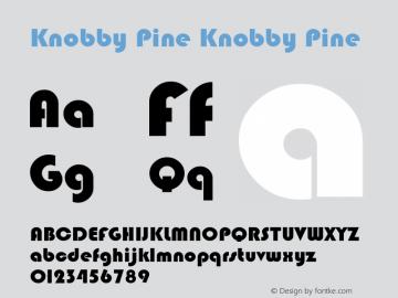 Knobby Pine