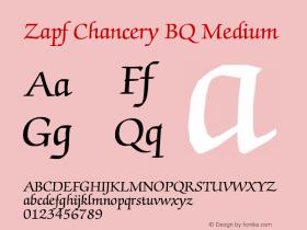 Zapf Chancery BQ