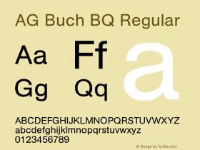 AG Buch BQ