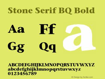 Stone Serif BQ