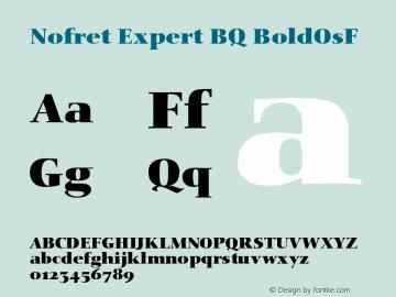 Nofret Expert BQ