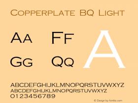 Copperplate BQ