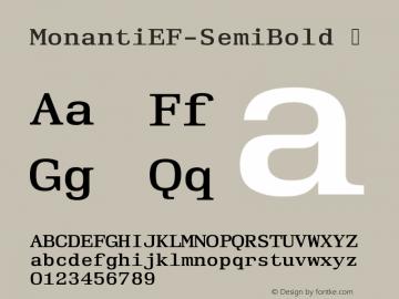 MonantiEF-SemiBold