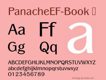 PanacheEF-Book