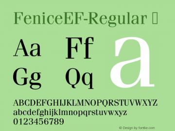 FeniceEF-Regular