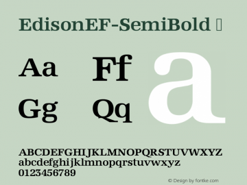 EdisonEF-SemiBold