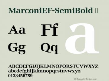 MarconiEF-SemiBold