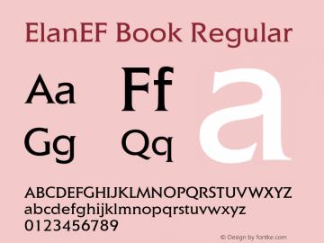ElanEF Book