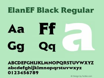 ElanEF Black