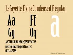Lafayette ExtraCondensed