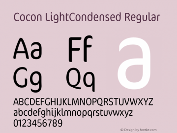 Cocon LightCondensed