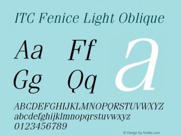 ITC Fenice Light