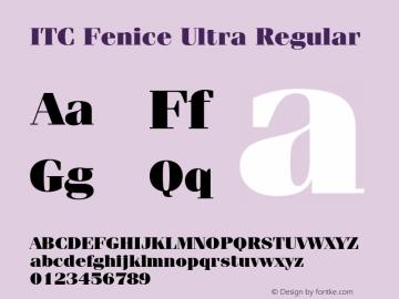 ITC Fenice Ultra