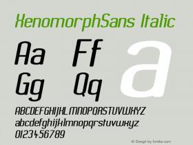 XenomorphSans