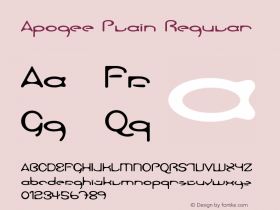 Apogee Plain