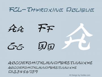 FCL-Thyroxine