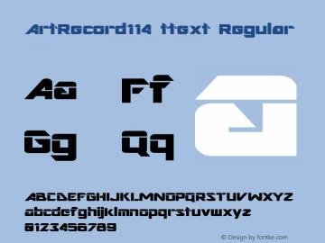 ArtRecord114 ttext