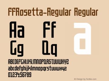 FFRosetta-Regular