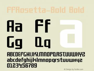 FFRosetta-Bold