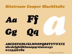 Bitstream Cooper