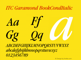 ITC Garamond
