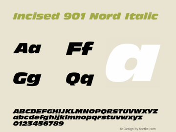 Incised 901 Nord