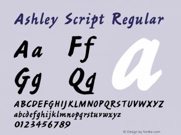 Ashley Script